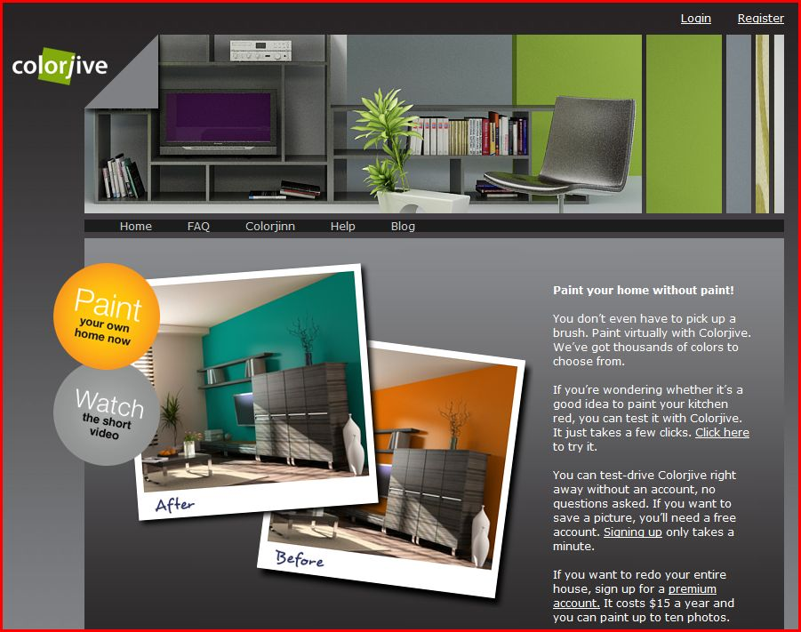 Colorjive Website House Painting Blog