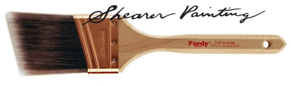 The Shearer choise for paitn brush