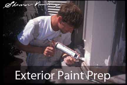 Exterior paint prep how to scrape before painting