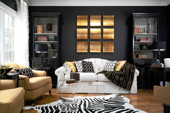 Dare Your Walls to Wear Black - House Painting Blog