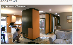 Accent Wall Painting Adds Interest To A Room House