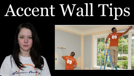 Accent wall painting adds interest to a room - House Painting Blog