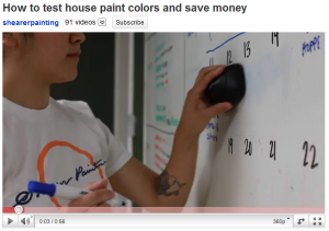 test house paint colors