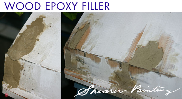 Wood-expoxy-filler
