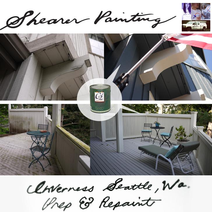 Inverness Seattle, Washington house painting