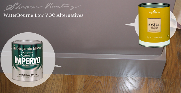Benjamin Moore Waterborne-alternatives