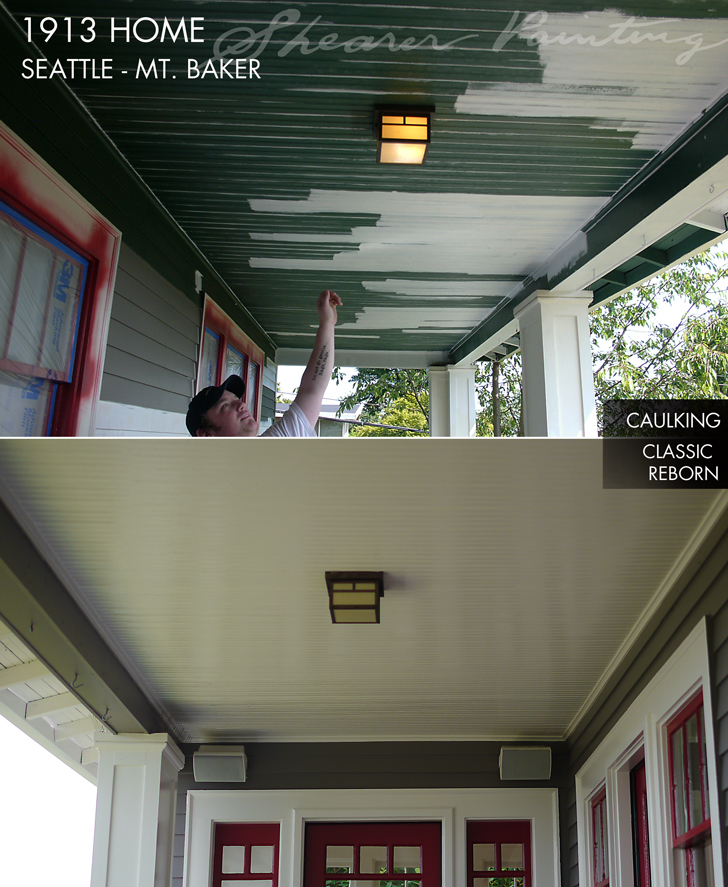 soffit painting