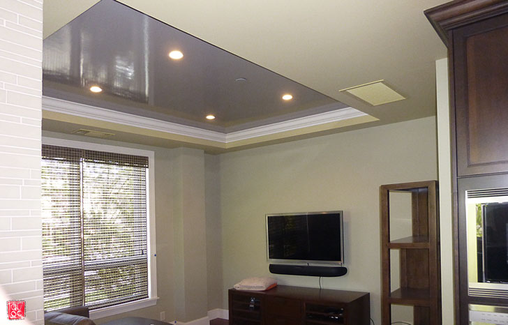 Lacquered Ceiling House Painting Blog