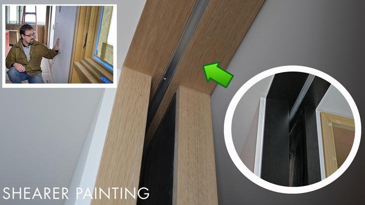 Door-casing-wood-stain