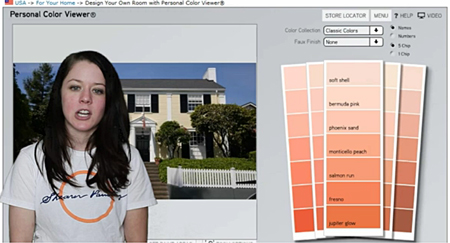 Benjamin Moore Color Picker